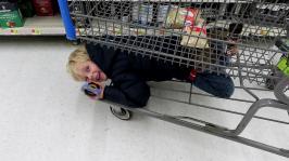 Under Cart Fun